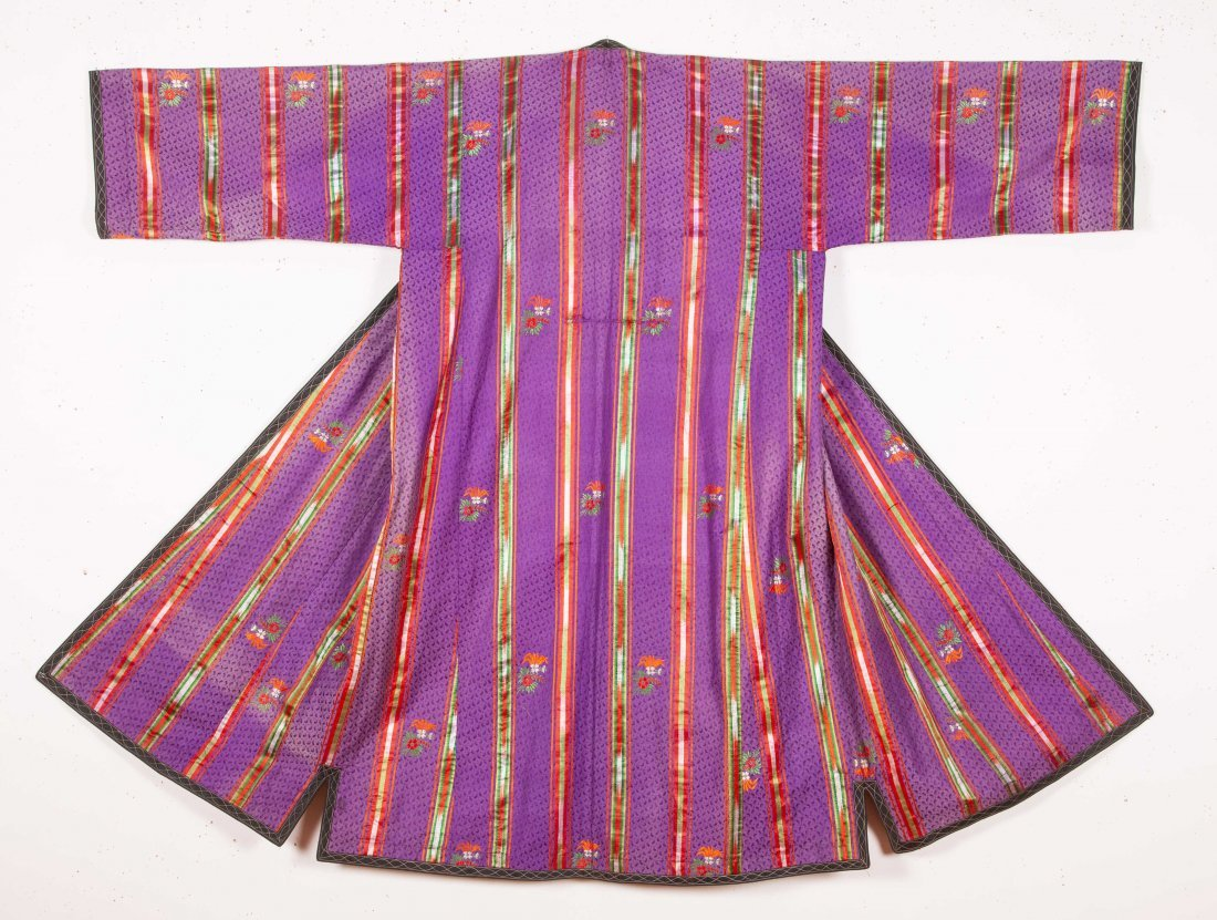 Tajik Silk Chapan  Late 19th c - 4