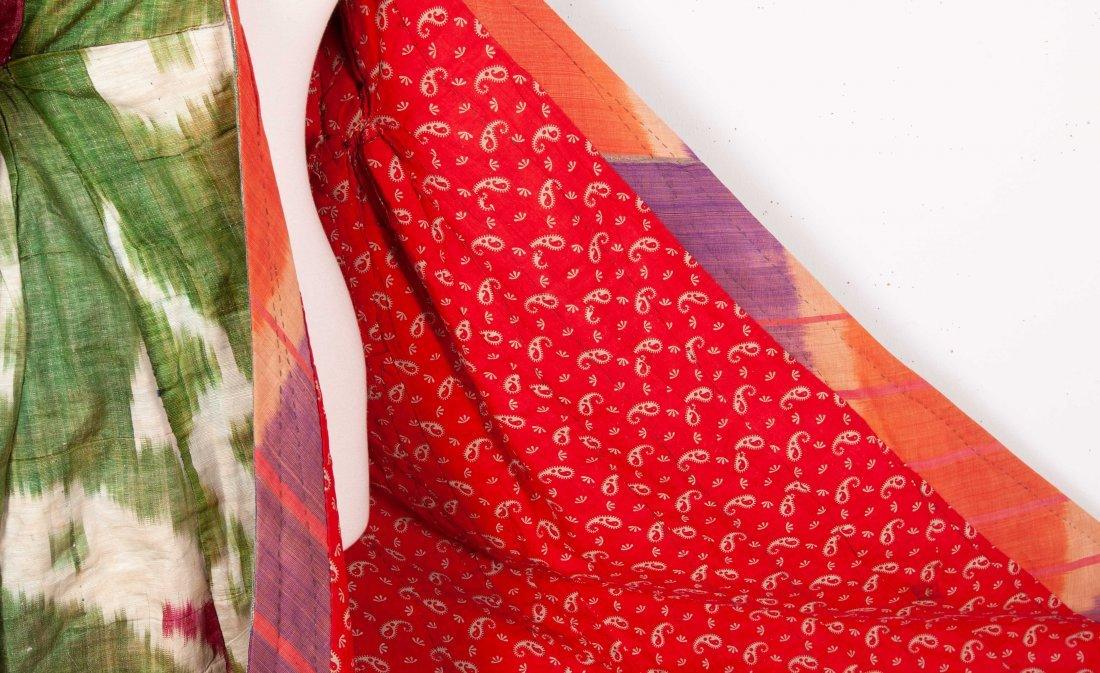 Uzbek Ikat Chapan  Late 19th c - 5