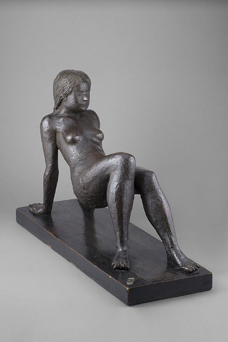 MARINO MARINI - Figurina (Bagnante), 1934