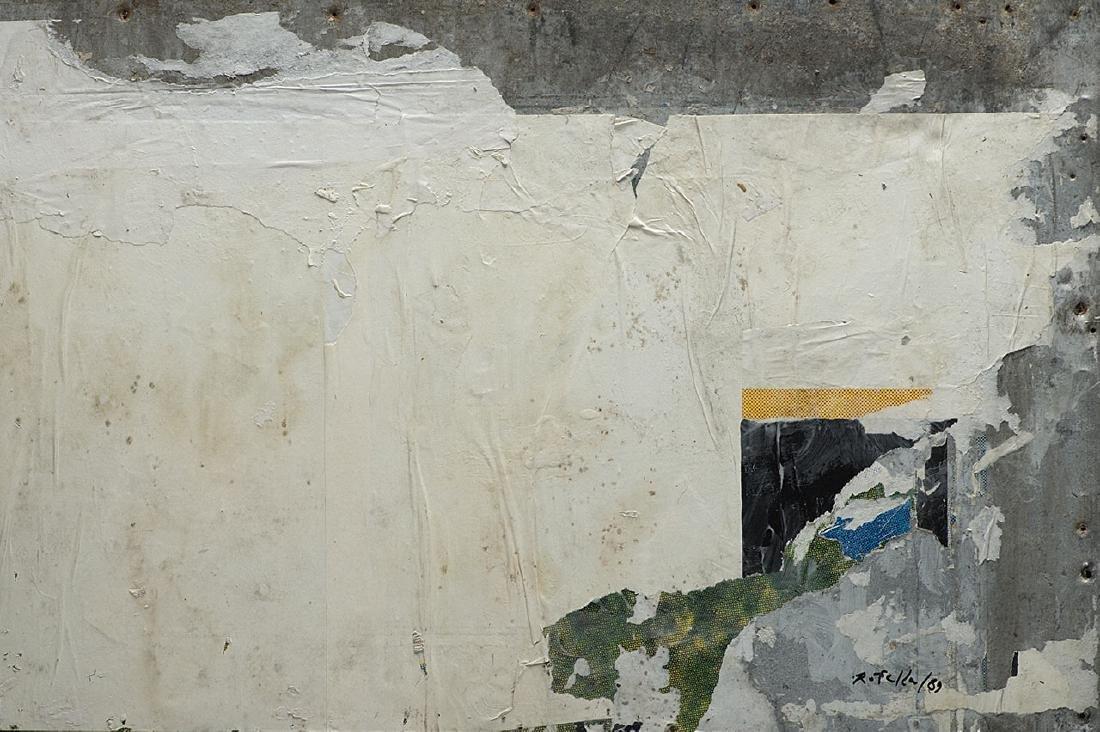 MIMMO ROTELLA - Una finestra nascosta, 1989