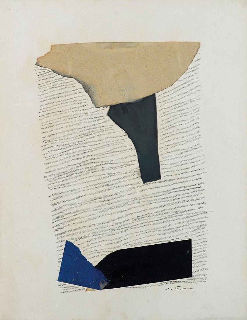 GIUSEPPE SANTOMASO - Untitled, 1979