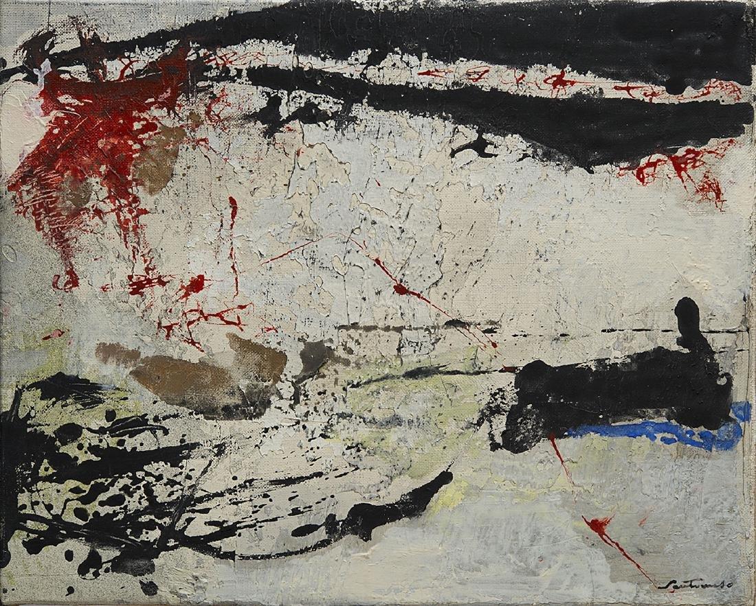 GIUSEPPE SANTOMASO - Untitled, 1963 ca.