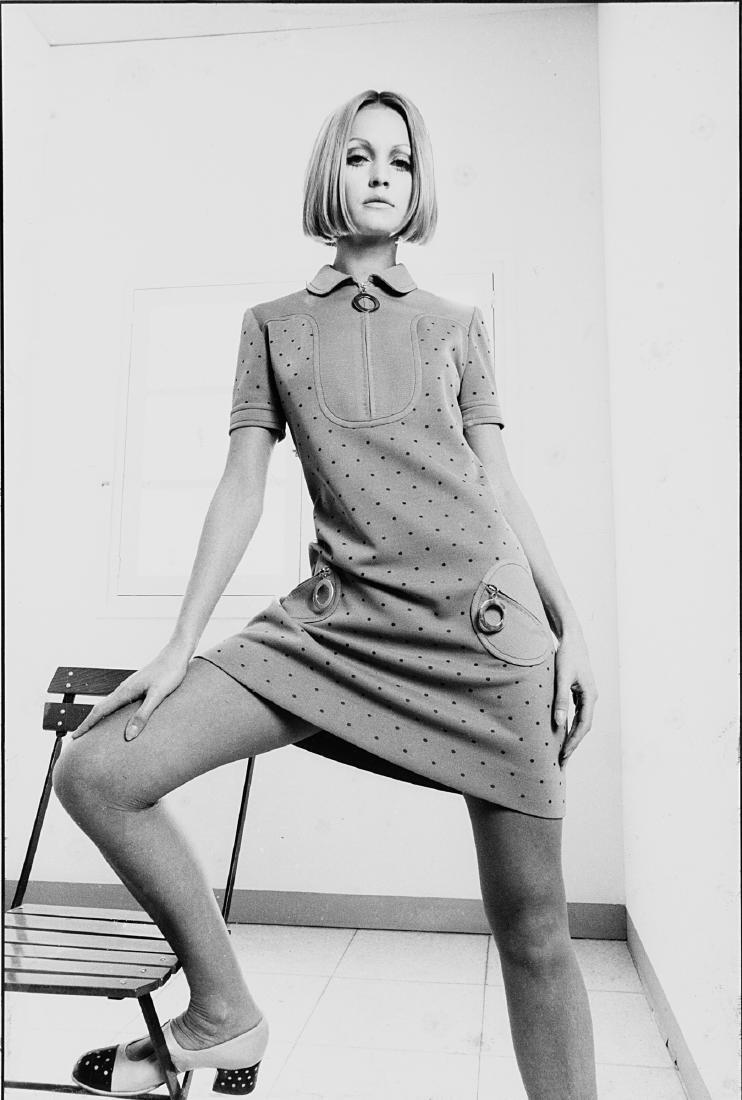 BERT STERN - Twiggy, Vogue, anni 1960