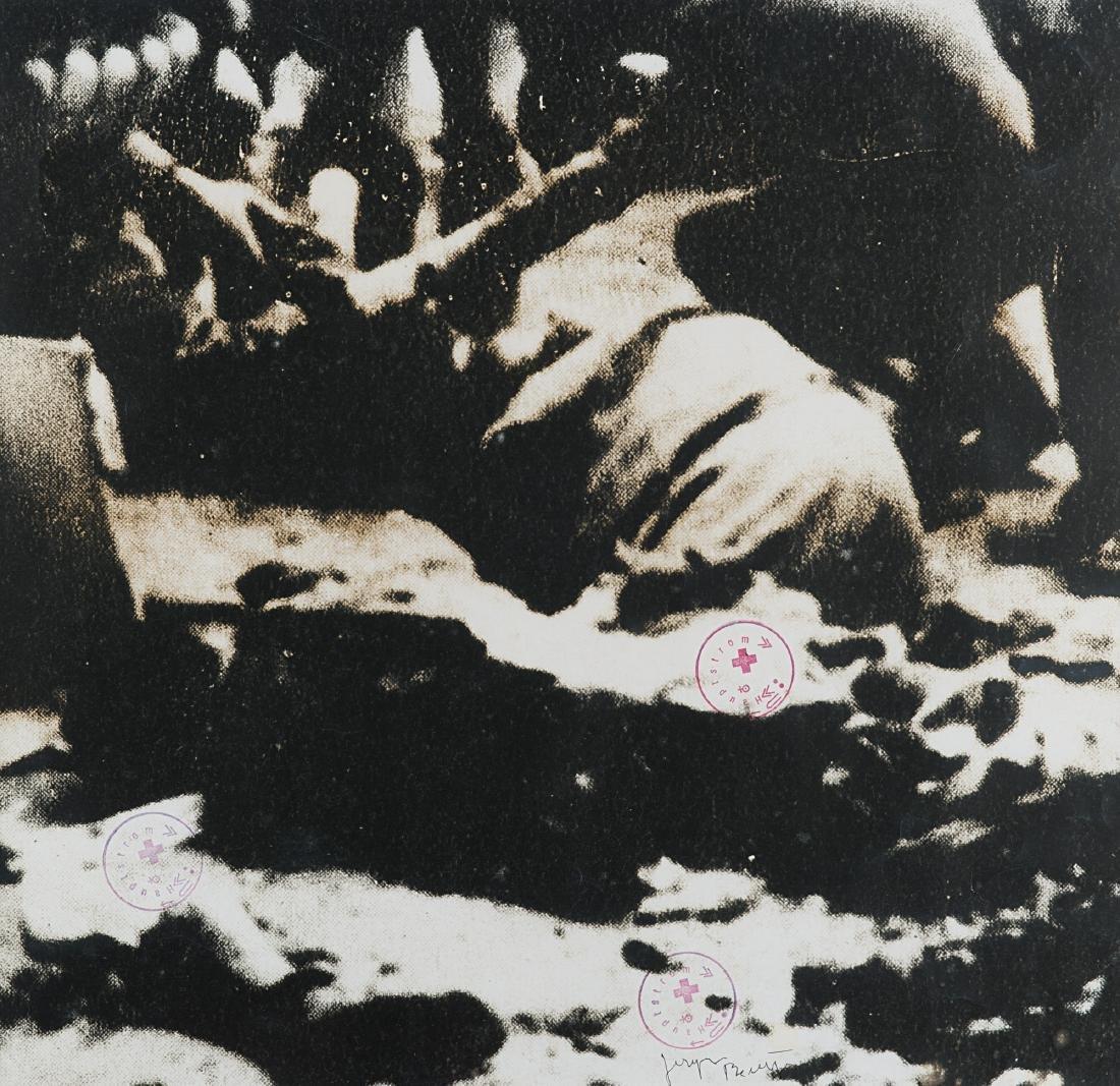 JOSEPH BEUYS - Senza titolo (guerra), anni 1970