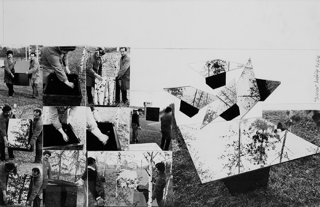 FABRIZIO GARGHETTI (1939) - Blocco,