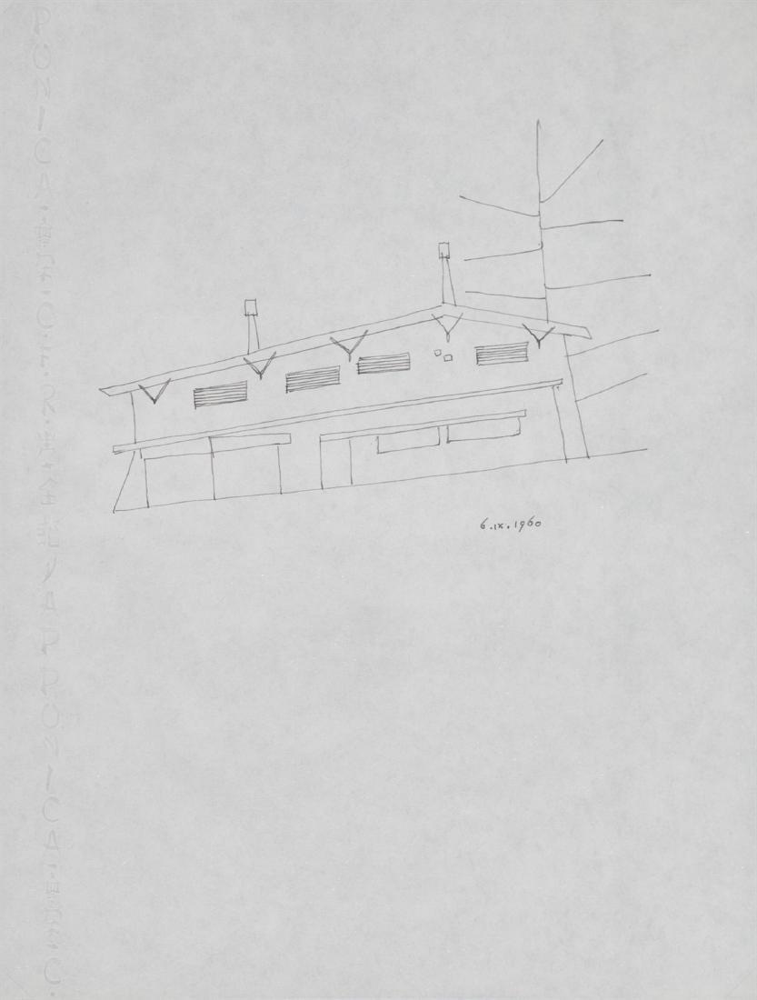 Giò Ponti - Studio di casa, 1960