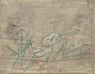 ACHILLE PERILLI (1927) - Omaggio a Klee, 1959