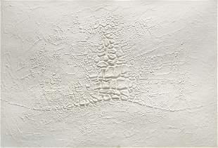 ALBERTO BURRI (1915 - 1995) - Cretto bianco, 1971