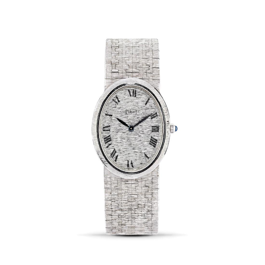 Piaget  - A 18K white gold Piaget lady's wristwatch