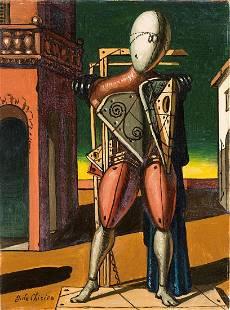 De Chirico Giorgio - Il trovatore (around 1960)