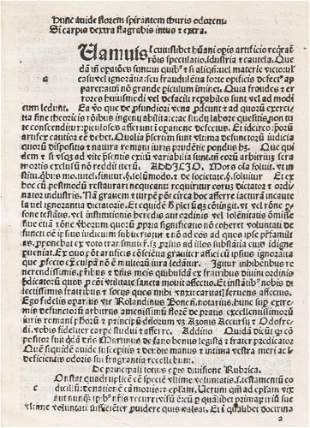 Passageriis, Rolandinus de - Flos testamentorum cum