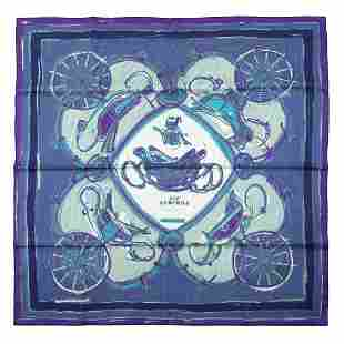 Hermès - New Springs Twill Silk scarf