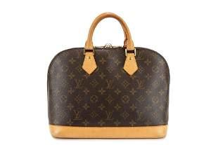 Louis Vuitton - Monogram canvas Alma bag