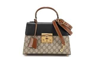 Gucci - Padlock GG leather bag