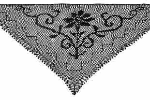 Dolce & Gabbana - Triangle shawl