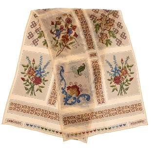 Moschino - Silk chiffon scarf