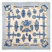 Hermès - Ferronerie Silk Twill scarf