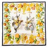 Hermès - Fructidor Silk Twill scarf