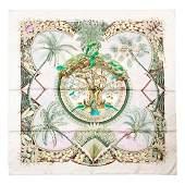 Hermès - Aloha Silk Twill scarf