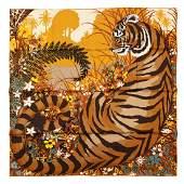Hermès - Tyger Tyger Silk Twill scarf
