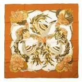 Hermès - Tahiti Silk Twill scarf