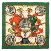 Hermès - Napoléon Silk Twill scarf