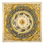 Hermès - Astrologie Silk Twill scarf