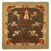 Hermès - Jumping Silk Twill scarf