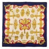 Hermès - Ferronnerie Silk Twill scarf