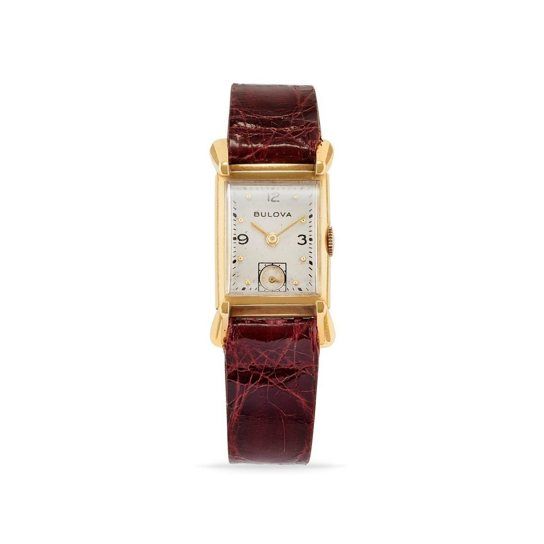 Bulova time-only, '60s
