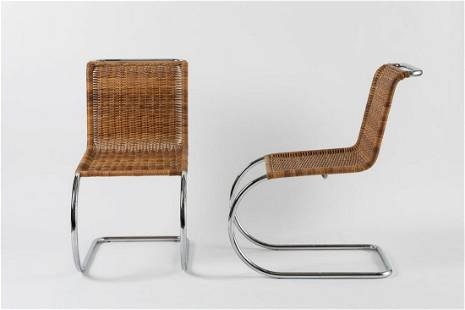 LUDWIG MIES VAN DER ROHE - Two chairs