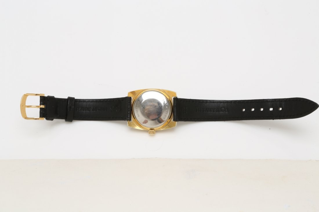 1970s Stainless Steel and Gold Plate Tissot Carrousel - 5