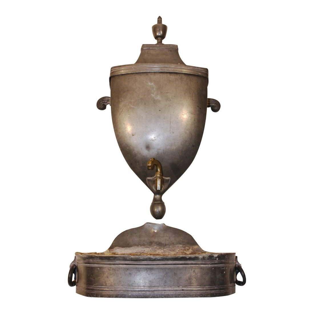 French Empire Pewter Lavabo