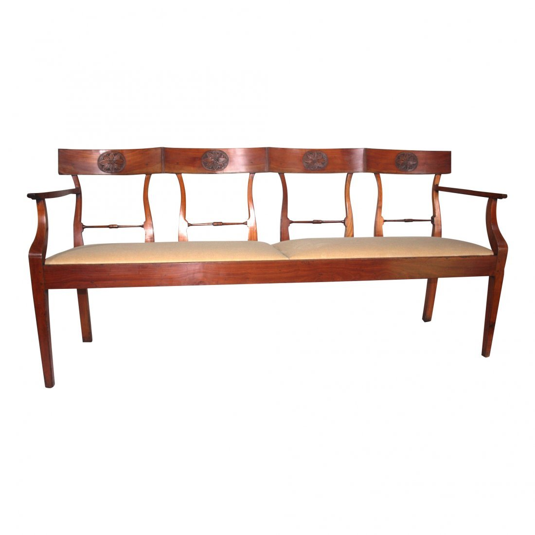 French 4 Seat Banquette
