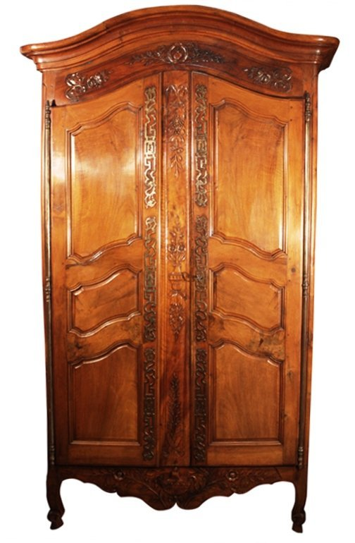 Louis XV French Wedding Armoire