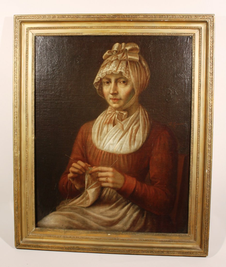 18th Century Painting of a Woman