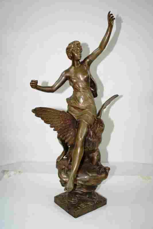 Antique Bronze Figurine