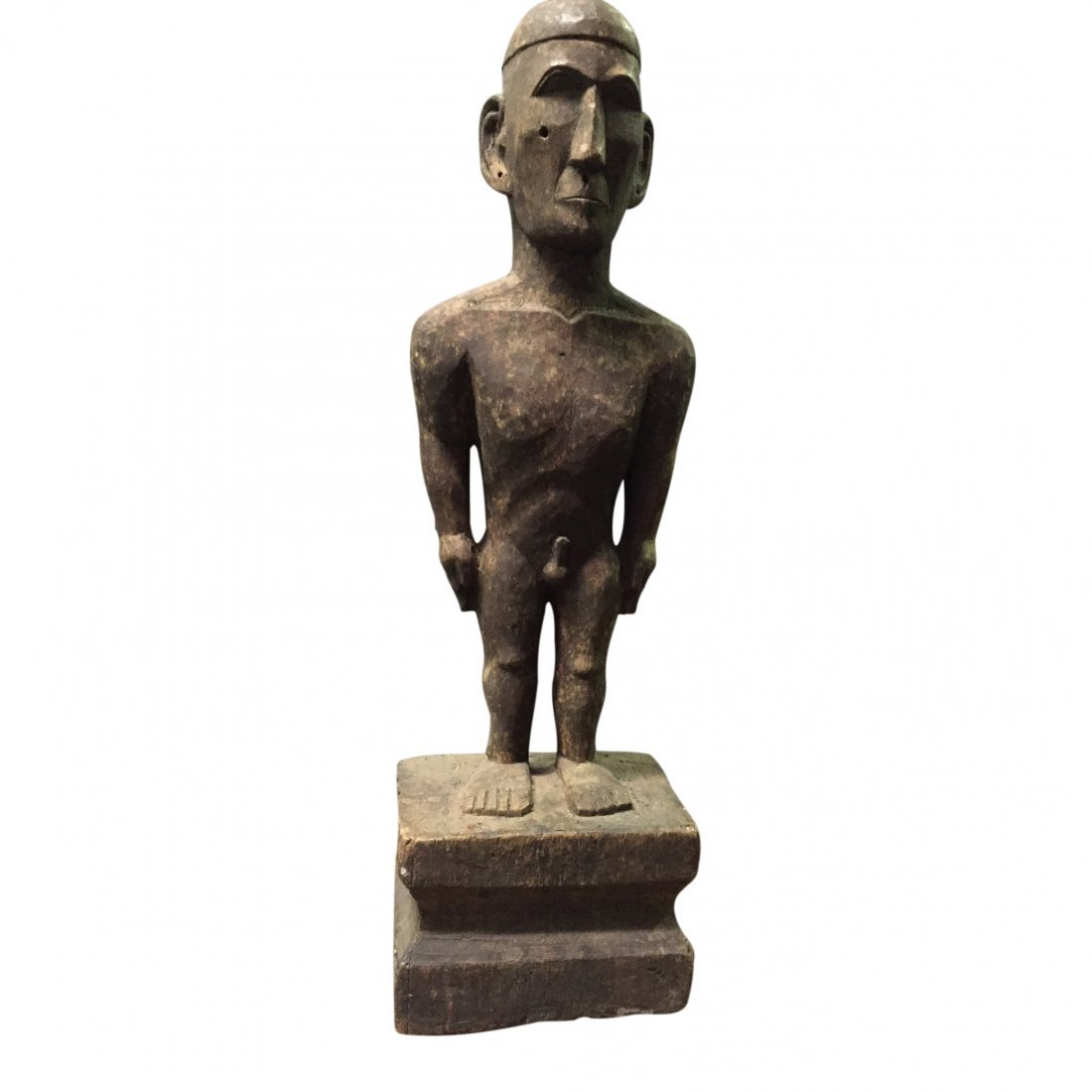 Standing male bulul statue