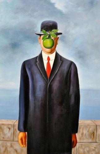 Lovely After Magritte Impression