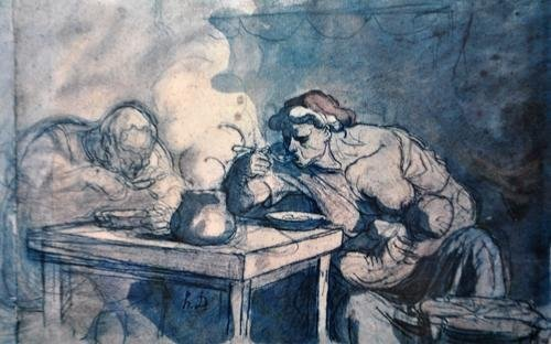 L.E. Lithograph By Modern French Master Honore Daumier