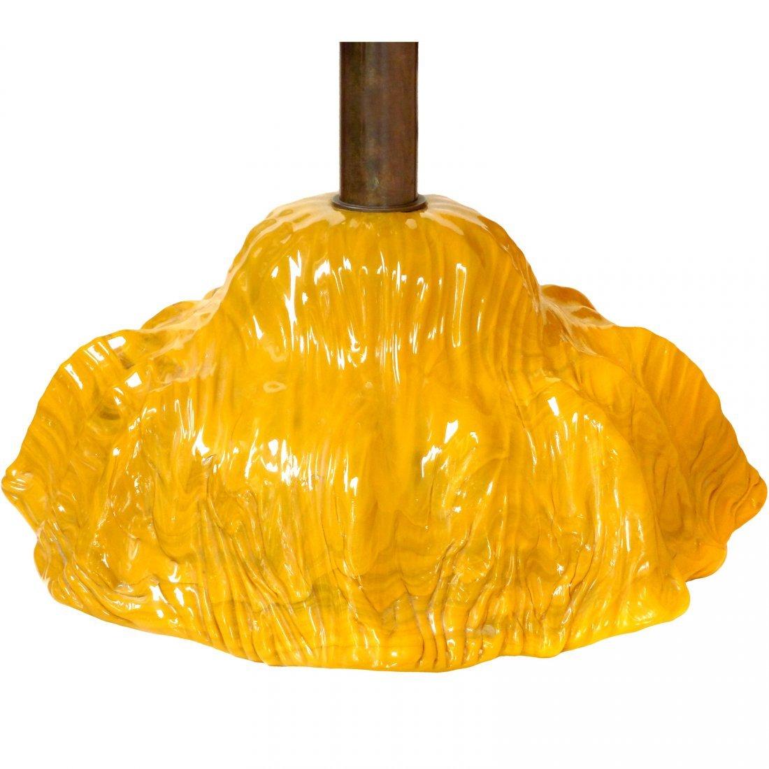 Toni Zuccheri Venini Murano Hanging Lamp