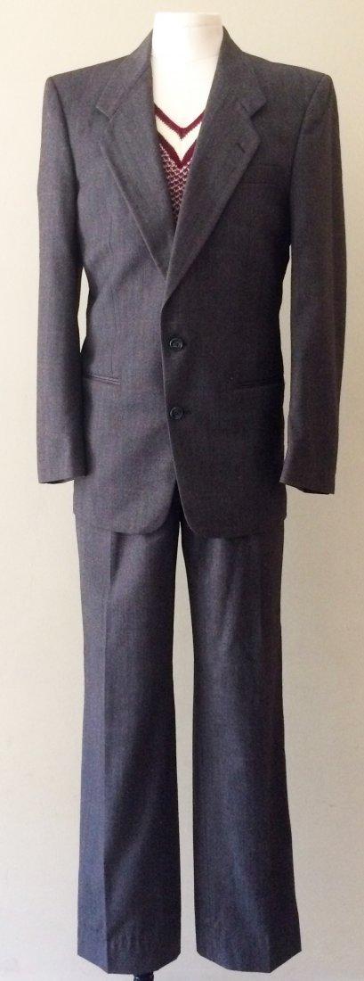 Vintage Halston for Barneys New York Charcoal Gray