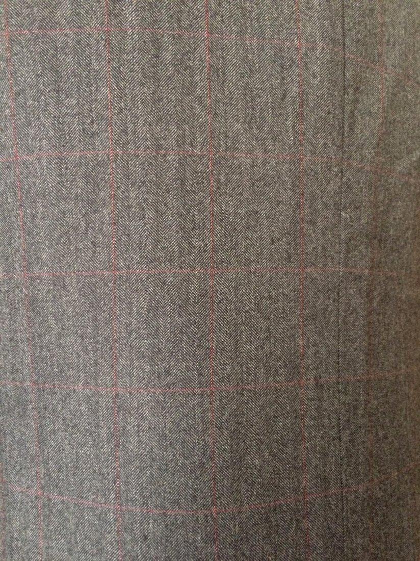 Vintage Halston for Barneys New York Charcoal Gray - 2