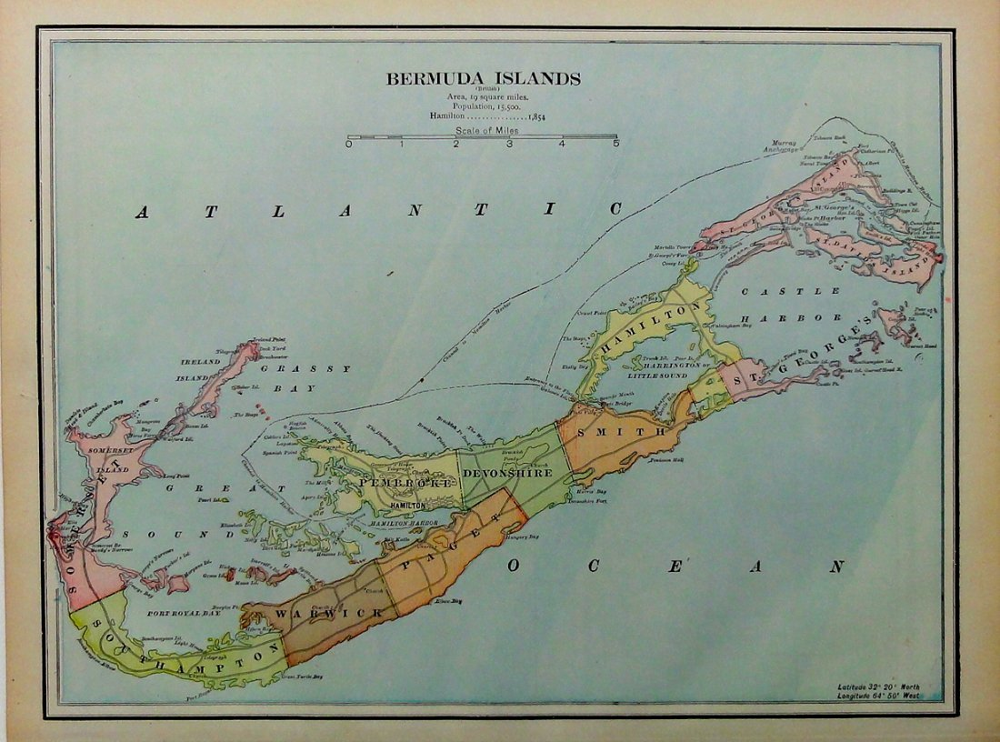 Bermuda Islands, 1898