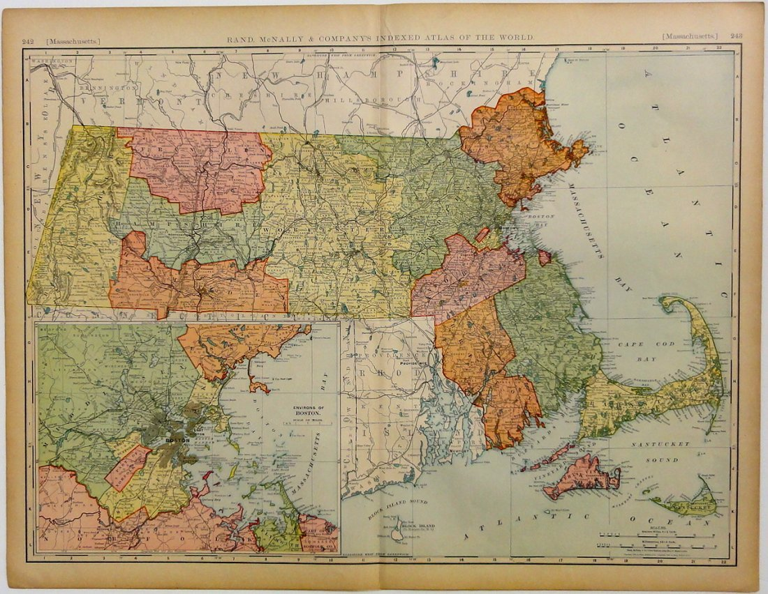 Massachusetts & Boston, 1892