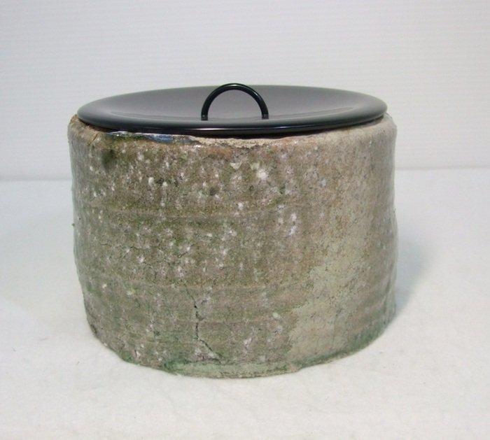 Shigaraki or Iga Ware Tea Water Container