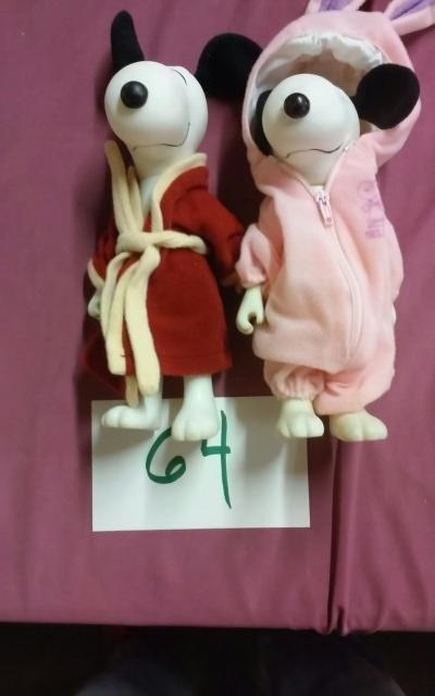 Snoopy & Belle doll