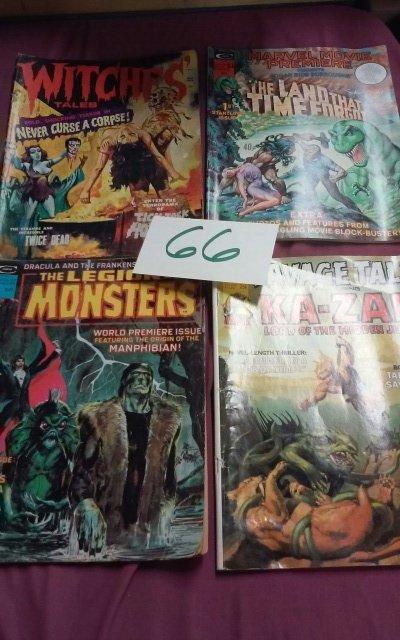 1970's Horror/Sc-fi Magazines