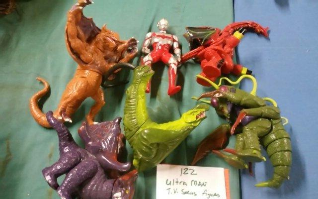 Ultra Man Action Figure Lot