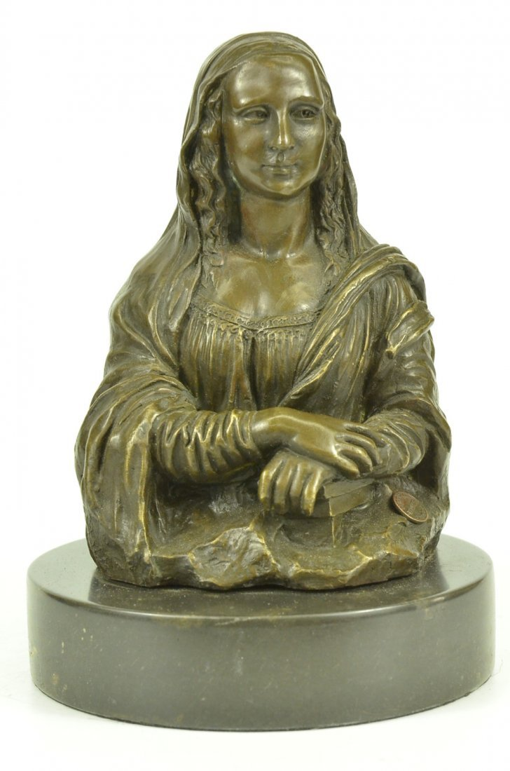 bronze on marble, Hot Cast